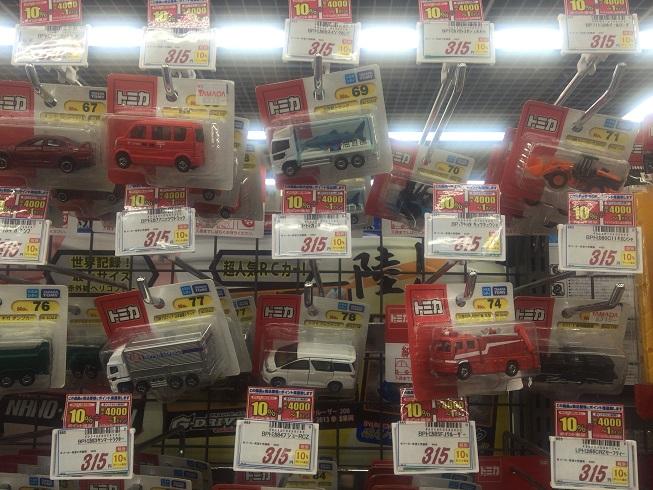 トミカミニカー315円