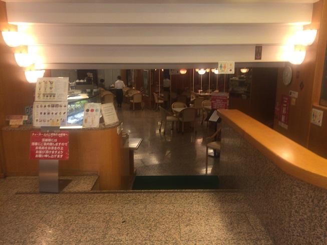 モンブランカフェ入口