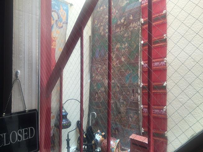 4階クルンサイアムお店前