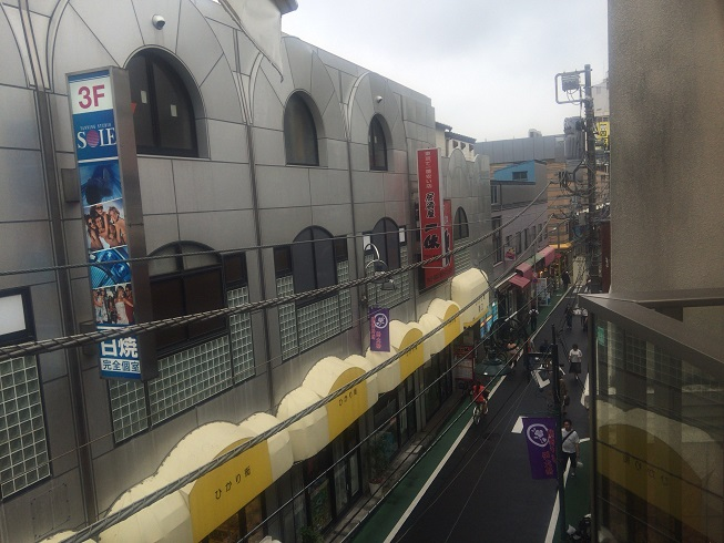 3階テラスから見える景色