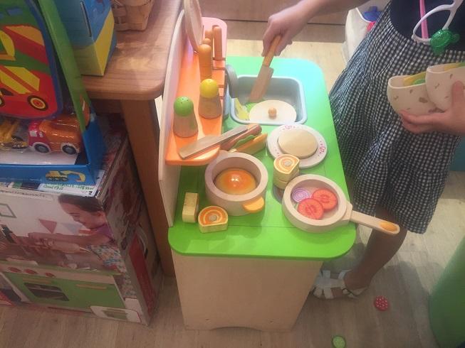 キッチンセットのキッチン