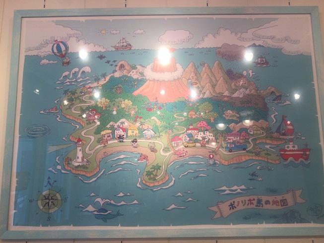 PonoLipo島の地図