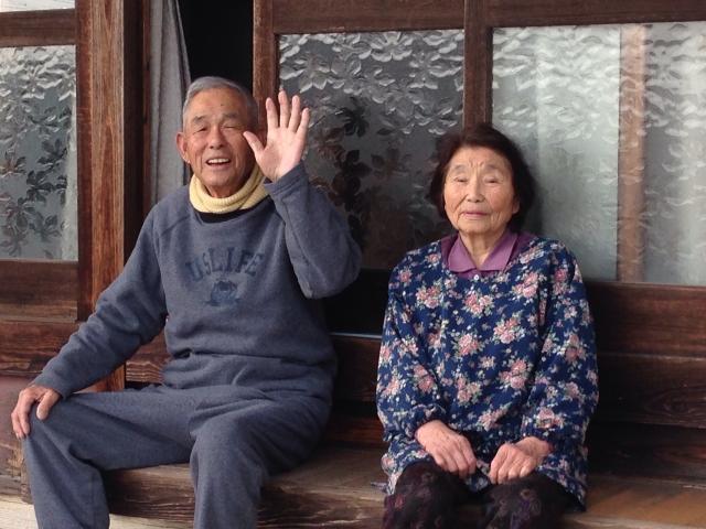 中の良い老夫婦