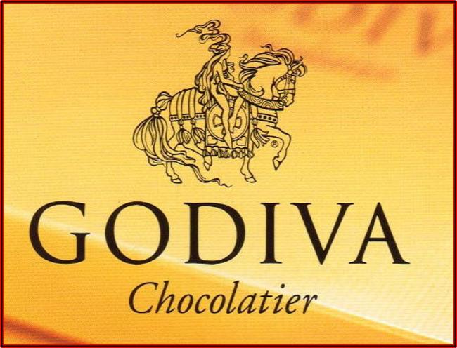 GODIVAのブランドマーク