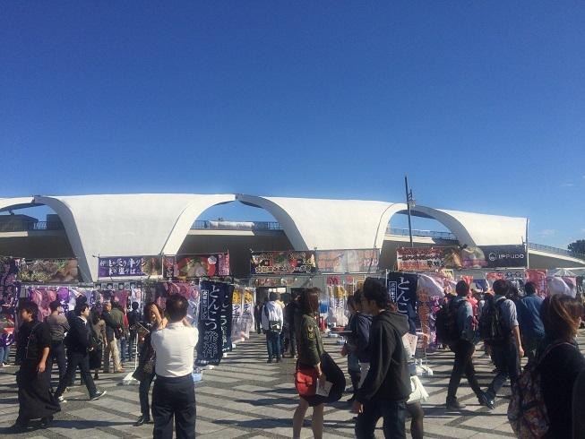 東京ラーメンショー2015の雰囲気