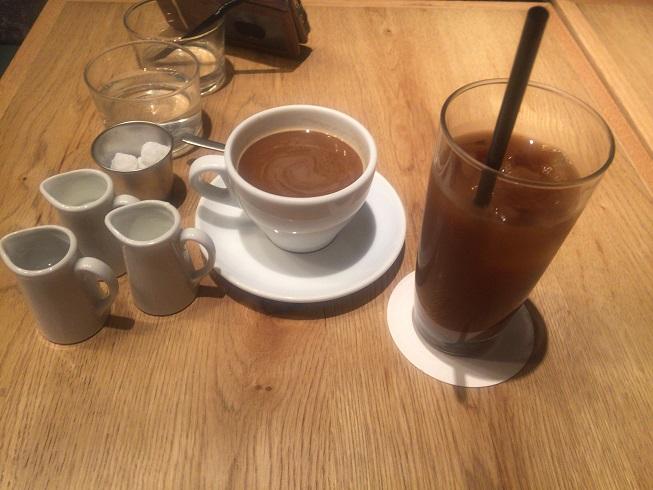 コーヒー、アイスコーヒー