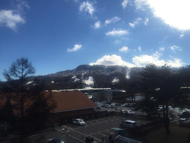 浅間山の絶景