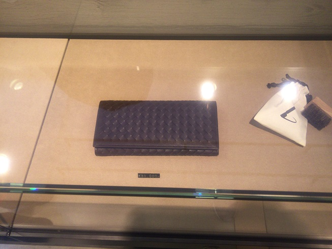 ポッテガベネタタイプの財布