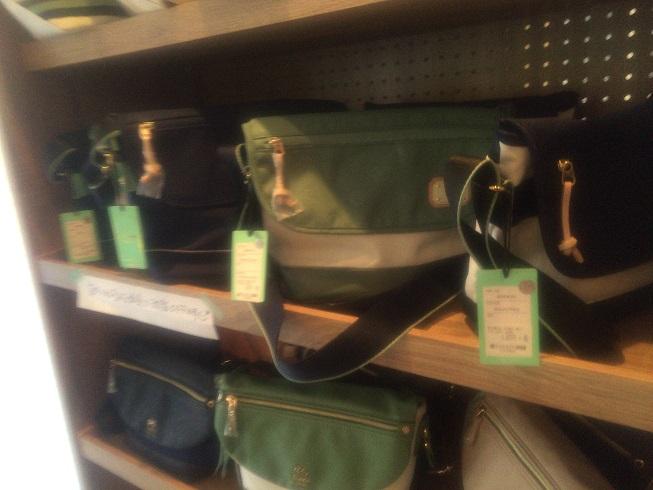 ビアンキのバッグ類