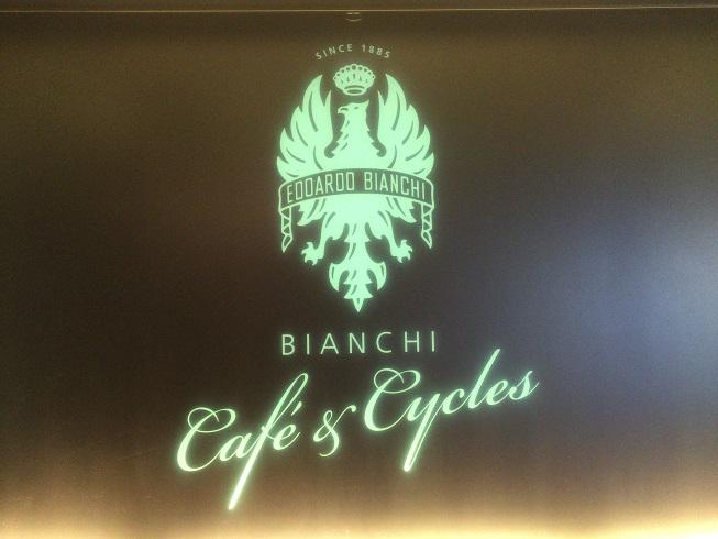 ビアンキカフェのロゴ