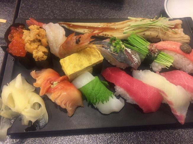 すしざんまい特上寿司