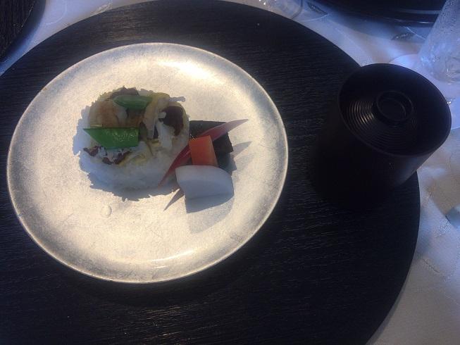穴子のチラシ寿司
