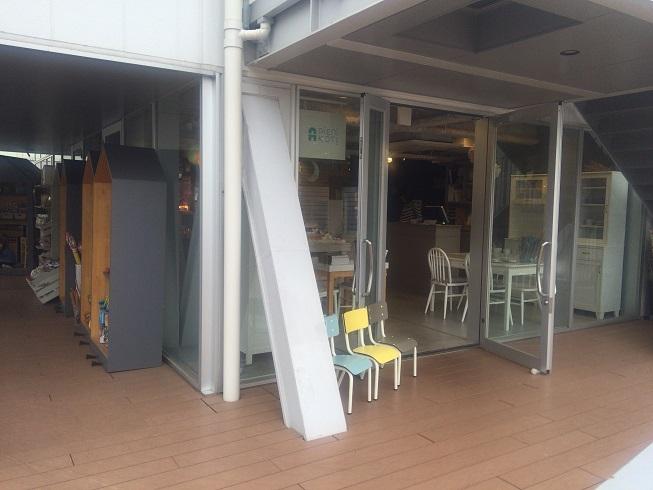 3階にあるピエニコティのお店
