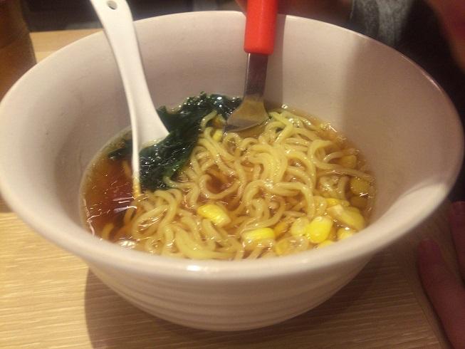キッズ中華麺