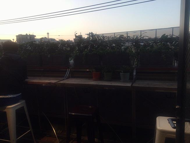 DULTON3階カフェスペースから見える風景