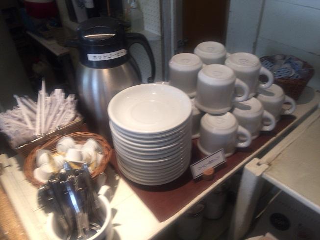 ドリンクバーにあるホットコーヒー