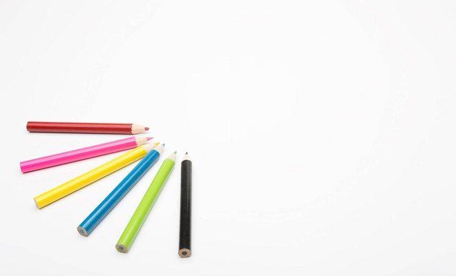 何色にもなれる色鉛筆