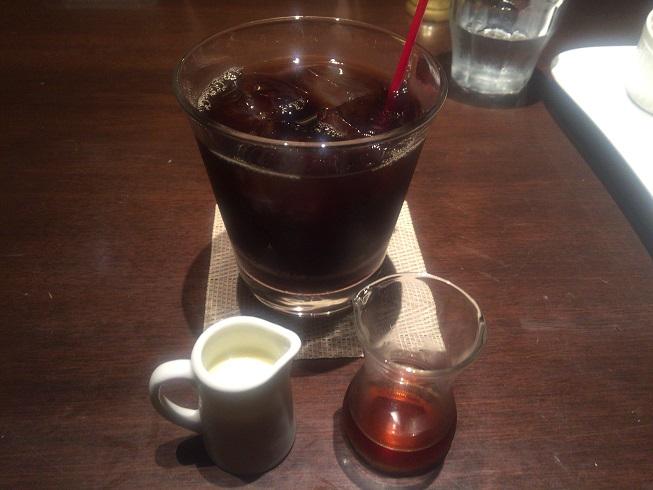 オーガニックアイスコーヒー