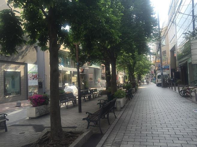 マリクレール通り周辺緑道