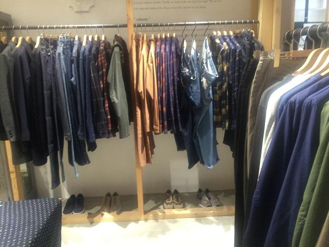APCのデニムやシャツ類