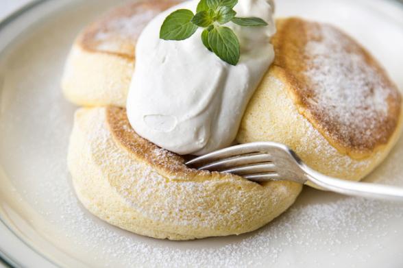 フリッパーズのスフレパンケーキ