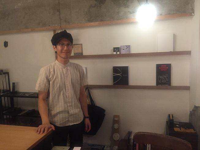 オーナーの坂井さんは気さくで柔らかい雰囲気が特徴