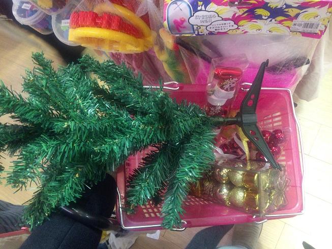 クリスマスツリー作成に必要なもの