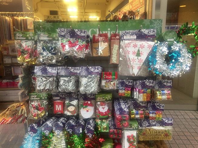 ル・プリュにあるクリスマス関連商品