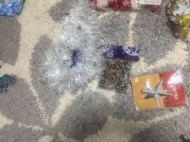 ル・プリュで購入したクリスマス関連商品