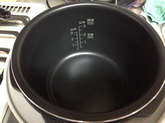 シロカ電気圧力鍋の釜