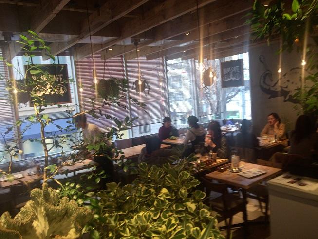 NAAK CAFE(ナークカフェ)店内雰囲気