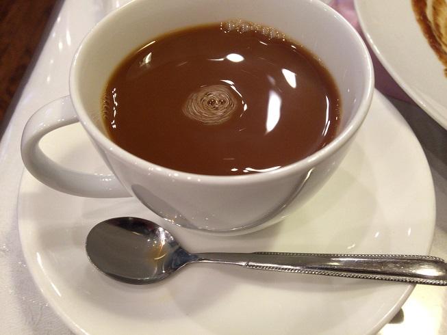 ランチセットのコーヒー