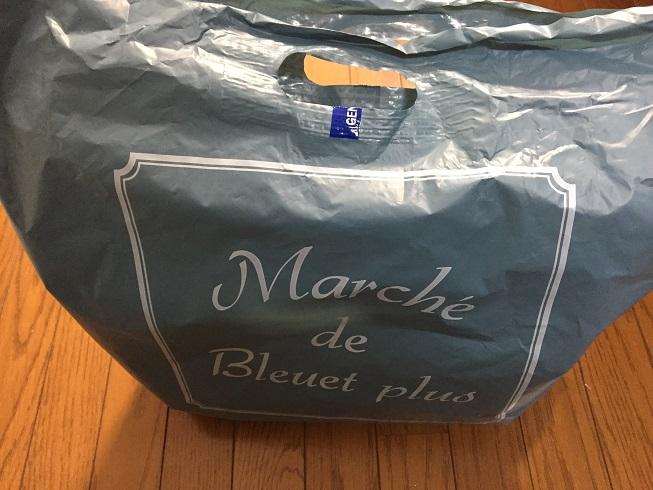 マルシェドブリューエプリュスの袋