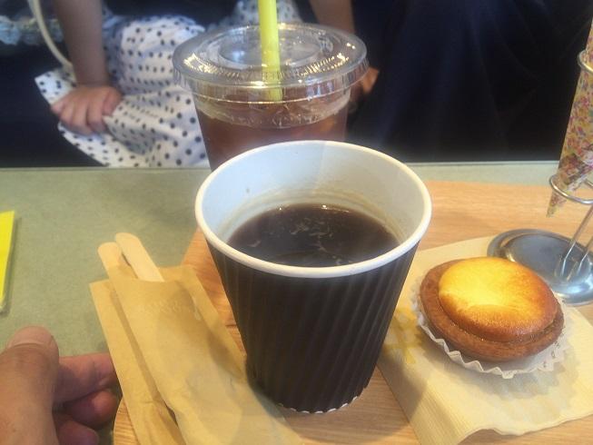 ホットコーヒー・アイスコーヒー・チーズタルト