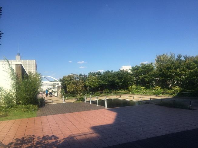 玉川高島屋屋上庭園