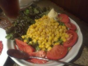 トマトコーンサラダ