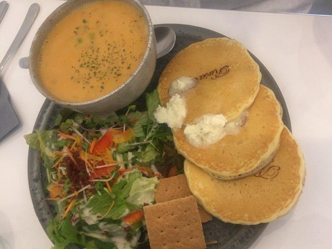 クリーミースープ&サラダ