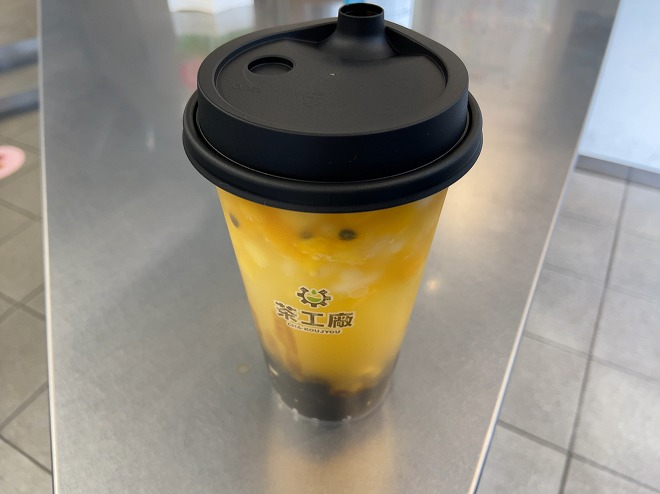 茶工場のマンゴーパッションティー