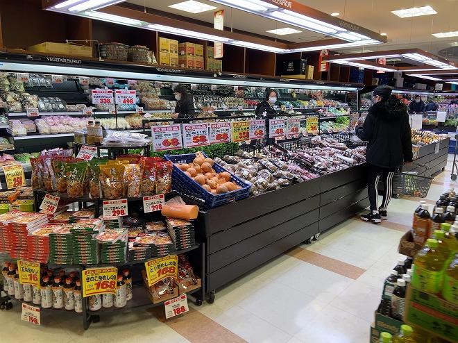 豊富な野菜が陳列されたあおば自由が丘店の画像