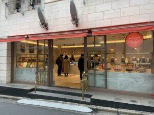 チョコレートハウス『モンロワール』自由が丘店の店前画像