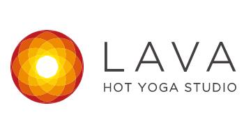 ホットヨガスタジオLAVAのロゴ画像
